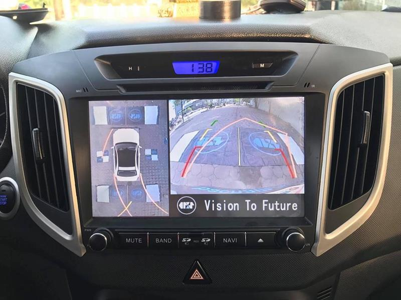 Lắp camera 360 độ cho ô tô giá rẻ