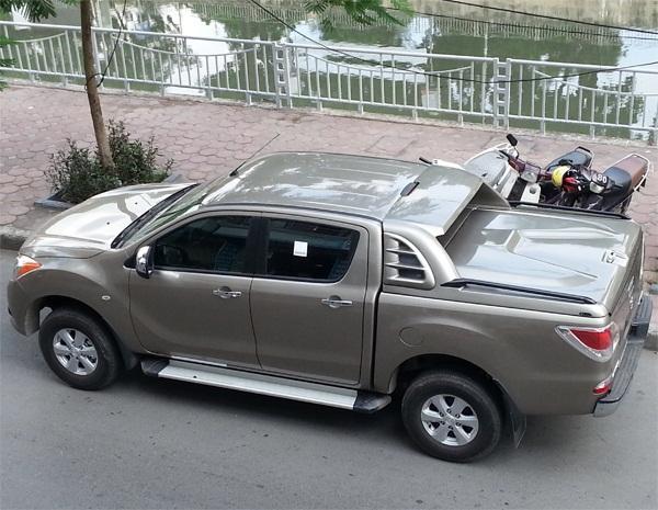 Nắp thùng mazda BT 50 thêm phần mạnh mẽ cho xe của bạn